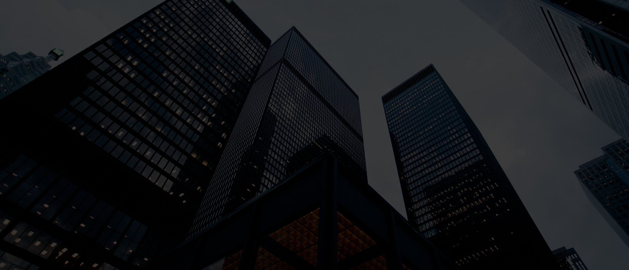 financial services header